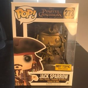 Funk POP 273-Jack Sparrow-Pirates of the Caribbean
